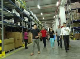 Touring the impressive PKT Logistics facility