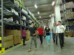 Touring the impressive PKT Logistics facility