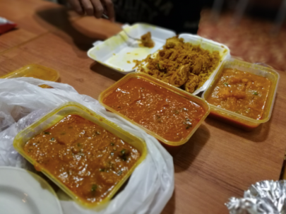 That awesome curry James managed to order
