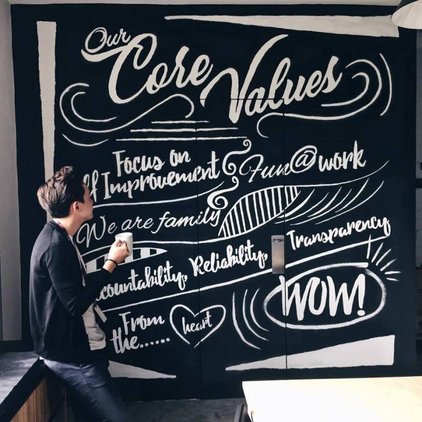 core values, culture, art, corporate culture
