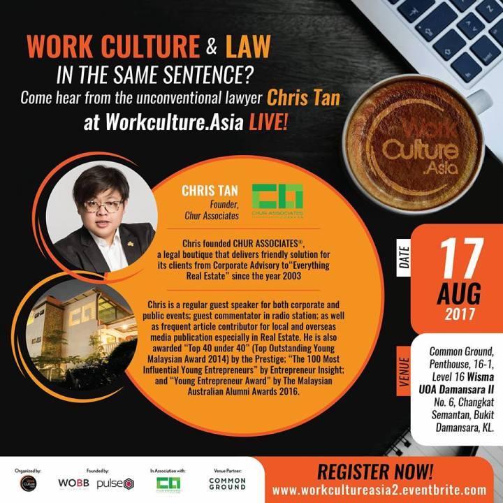 chris tan chur associates work culture asia