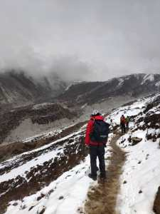 snow cold everest dingboche