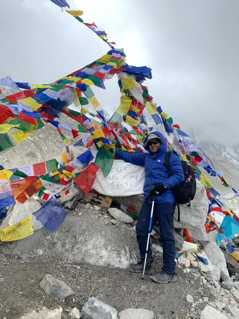 everest base camp jwanheah